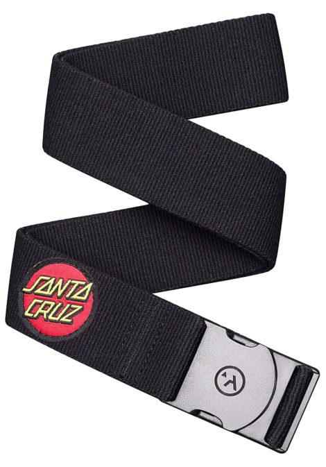 ARCADE Rambler Santa Cruz Gürtel - Schwarz