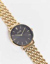 Anaii - Goldfarbene Uhr mit schwarzem Detail