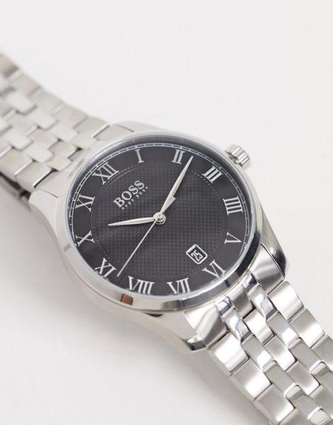 BOSS 1513588 - Master - Silberne Armbanduhr