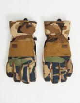 Billabong - Kera - Handschuhe mit grünem Camouflagemuster