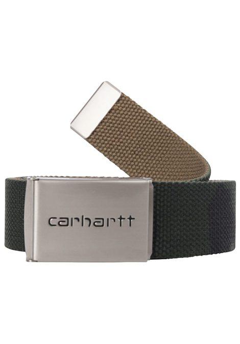 Carhartt WIP Clip Chrome Gürtel - Camouflage
