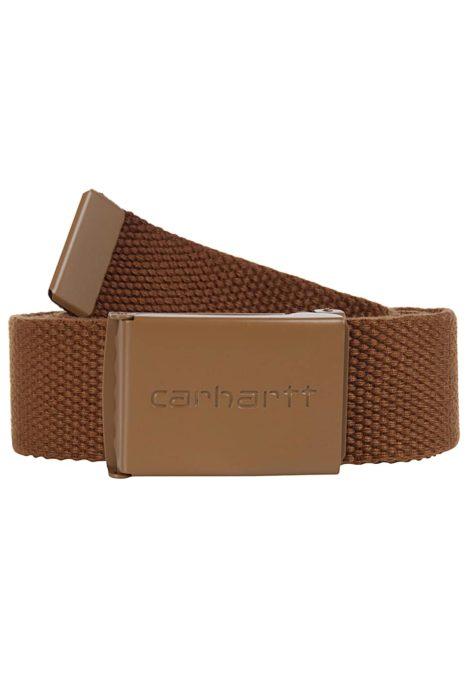 Carhartt WIP Clip Tonal Gürtel - Braun