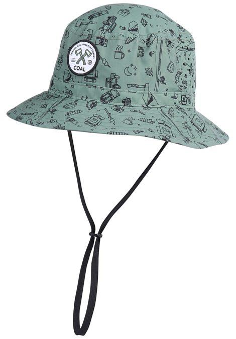 Coal The Spackler - Hut für Herren - Grün