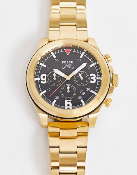 Fossil - FS 5752 - Herren-Armbanduhr-Gold