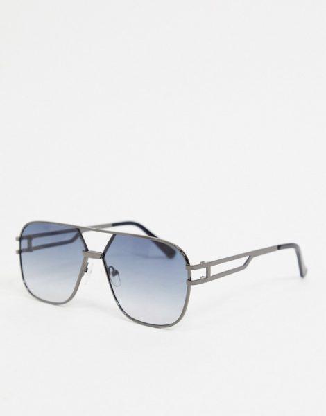 Jeepers Peepers - Quadratische Sonnenbrille in Grau