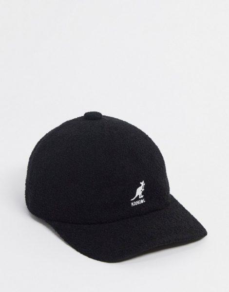 Kangol - Bermuda - Schwarze Baseball-Cap
