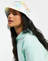 New Era - Anglerhut in hellem Batikdesign-Mehrfarbig