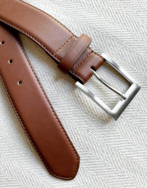 New Look - Eleganter Gürtel in Braun-Bronze