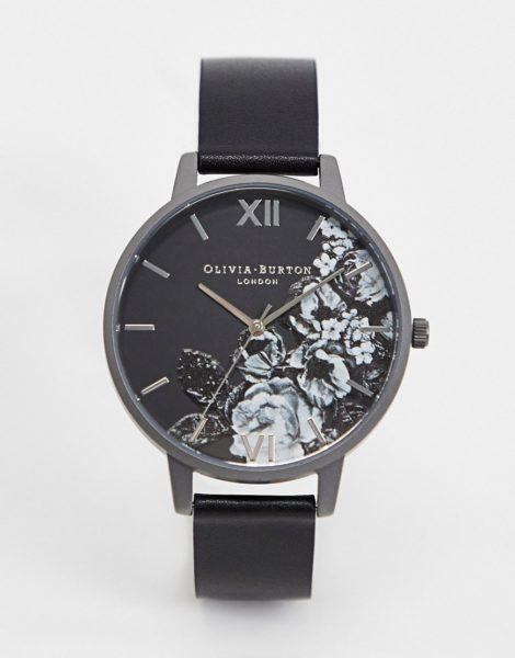 Olivia Burton - Shoreditch Fine Art - Armbanduhr-Schwarz