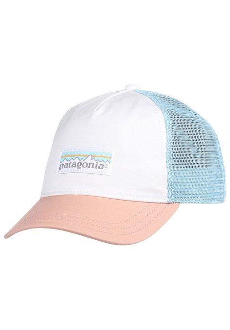 Patagonia Pastel P-6 Label Layback - Trucker Cap für Damen - Weiß