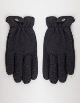 Paul Costelloe - Handschuhe aus Leder-Schwarz