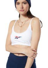 Reebok Classic V Big Logo - BH für Damen - Weiß