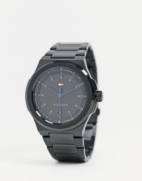 Tommy Hilfiger - Uhr mit schwarzem Armband