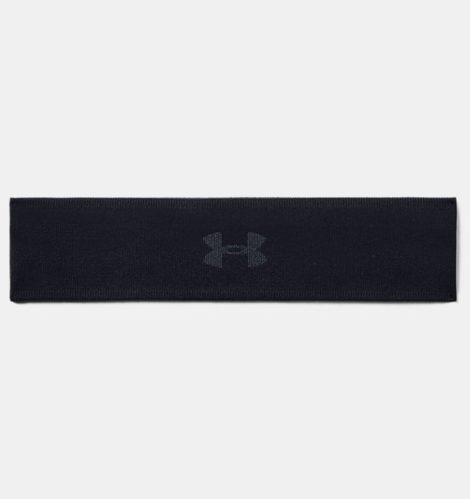 Under Armour Damen UA Jacquard Perfect Stirnband Schwarz OSFA