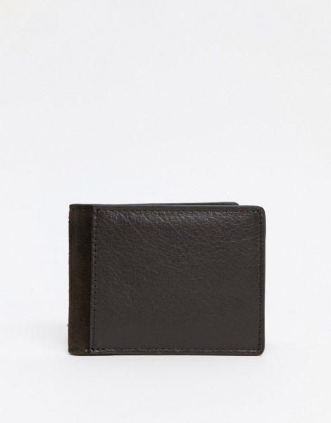 Urbancode - Brieftasche aus Leder-Braun