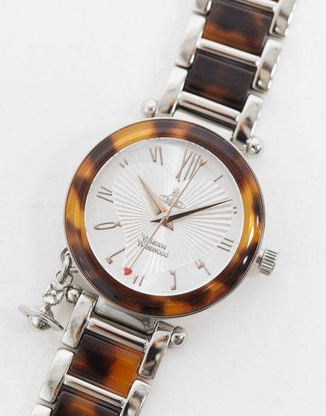 Vivienne Westwood - ORB II - Uhr mit Anhänger-Silber