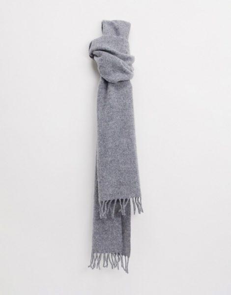 Weekday - Orbit - Grauer Schal