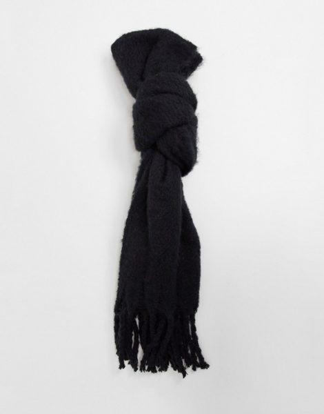 Boardmans - Schal aus recycelten Materialien-Schwarz