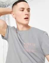 Bolongaro Trevor - Sport - T-Shirt im Used-Look-Grau