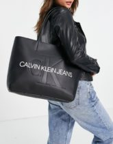 Calvin Klein Jeans - Shopper-Tasche in Schwarz