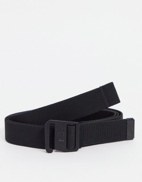 Carhartt WIP - Elastischer Gürtel in Schwarz