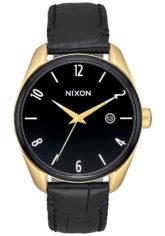NIXON Bullet Lthr - Uhr für Damen - Schwarz