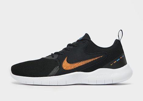 Nike Flex Experience Run 10 Herren - Black/Coast/White/Total Orange - Herren, Black/Coast/White/Total Orange