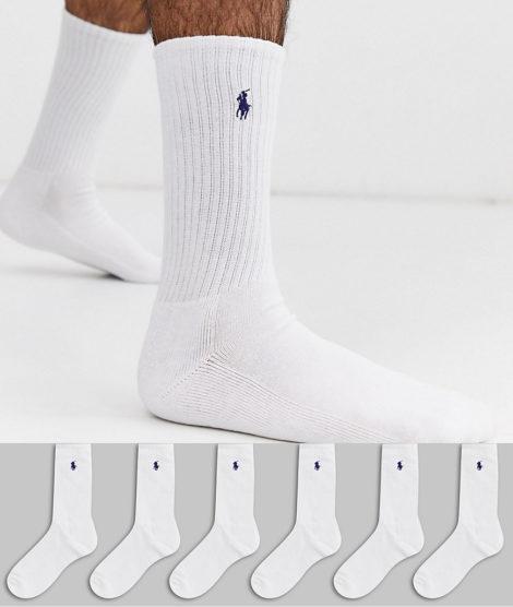 Polo Ralph Lauren - 6er Pack weiße Socken