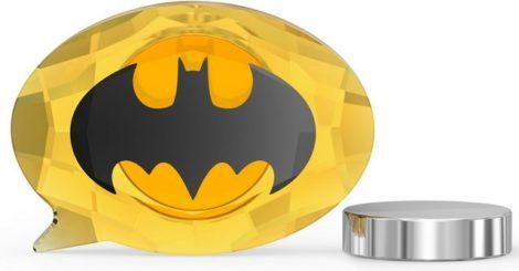 """Swarovski Comicfigur """"DC Comics Batman Logo Magnet, 5557490"""" (1 Stück), Swarovski® Kristall"""