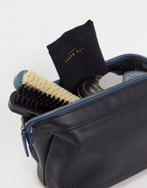 Ted Baker - Schuhpflege-Set-Schwarz