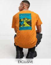 The North Face - Faces - T-Shirt in Orange, exklusiv bei ASOS