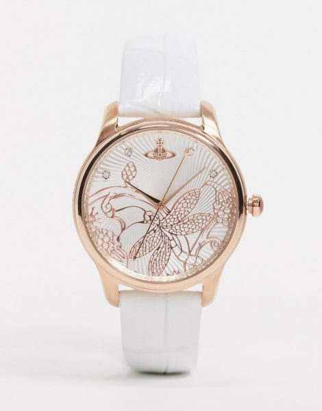 Vivienne Westwood - Fitzrovia - Weiße Armbanduhr