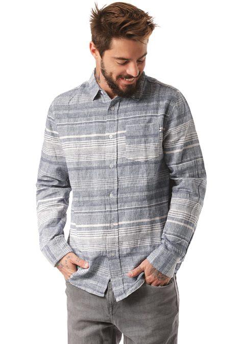 Wemoto Travis - Hemd für Herren - Blau
