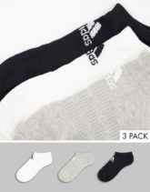 adidas Training - Mehrfarbige Füßlinge im 3er-Pack