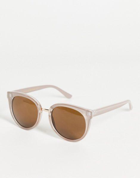 A.Kjaerbede - Gray - Oversize-Cat-Eye-Sonnenbrille für Damen in Grau-Grün