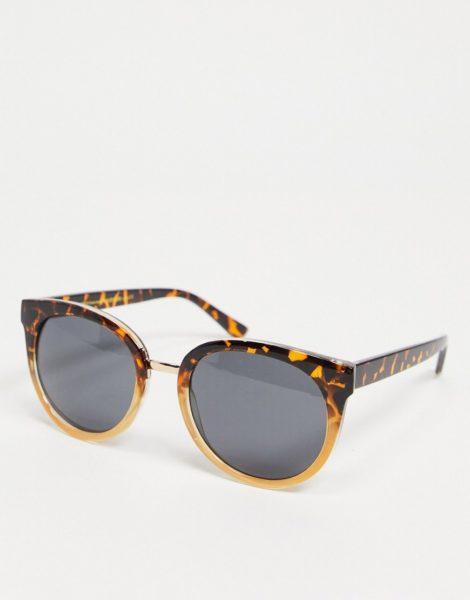 A.Kjaerbede - Gray - Übergroße Cat-Eye-Sonnenbrille für Damen in brauner Schildpattoptik