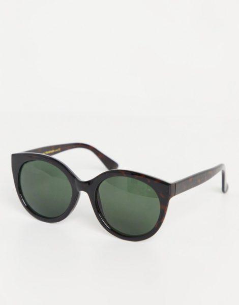 A.Kjaerbede - Oversize-Sonnenbrille mit Schildpattoptik für Damen-Braun