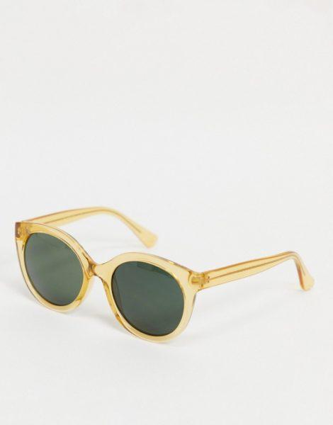 A.Kjaerbede - Oversized-Sonnenbrille für Damen in hellem Orange