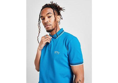 BOSS Paul Curved Logo Poloshirt Herren - Herren