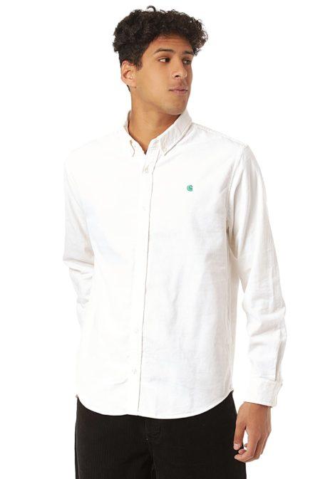 Carhartt WIP Madison Cord - Hemd für Herren - Weiß