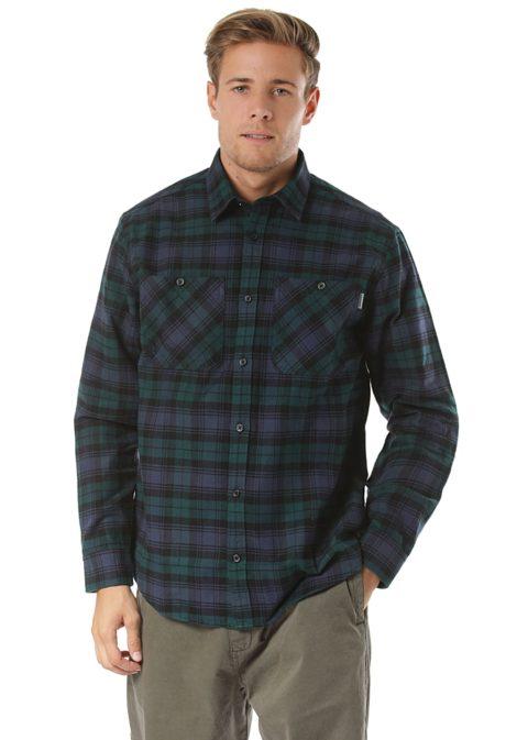 Carhartt WIP Pelkey L/S - Hemd für Herren - Blau