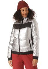 Chiemsee Wattierte Jacke - Jacke für Damen - Silber