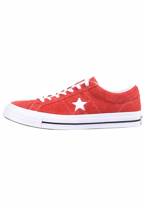 Converse One Star OX - Sneaker für Herren - Rot