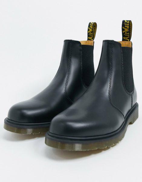 Dr Martens - 2976 - Schwarze Chelsea-Stiefel