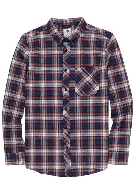 Element Lumber Classic L/S - Hemd für Herren - Karo