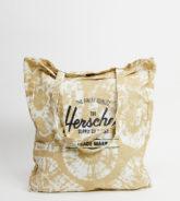 Herschel Supply Co - Exclusive - Tragetasche mit gebleichtem Batikmuster-Schwarz