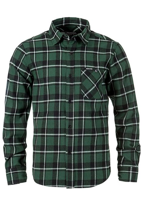 Horsefeathers Rashid - Hemd für Herren - Grün