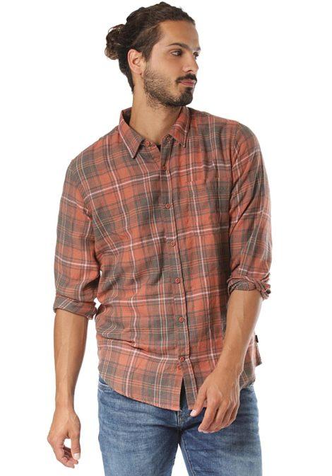 Hurley Vedder Washed - Hemd für Herren - Orange