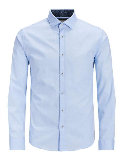 JACK & JONES Klassisches Hemd Herren Blau
