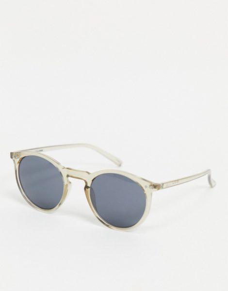 Jack & Jones - Runde Sonnenbrille in Grau